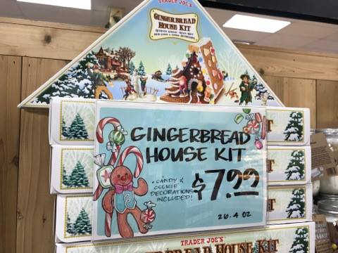 Gingerbread House Kit at Trader Joe's