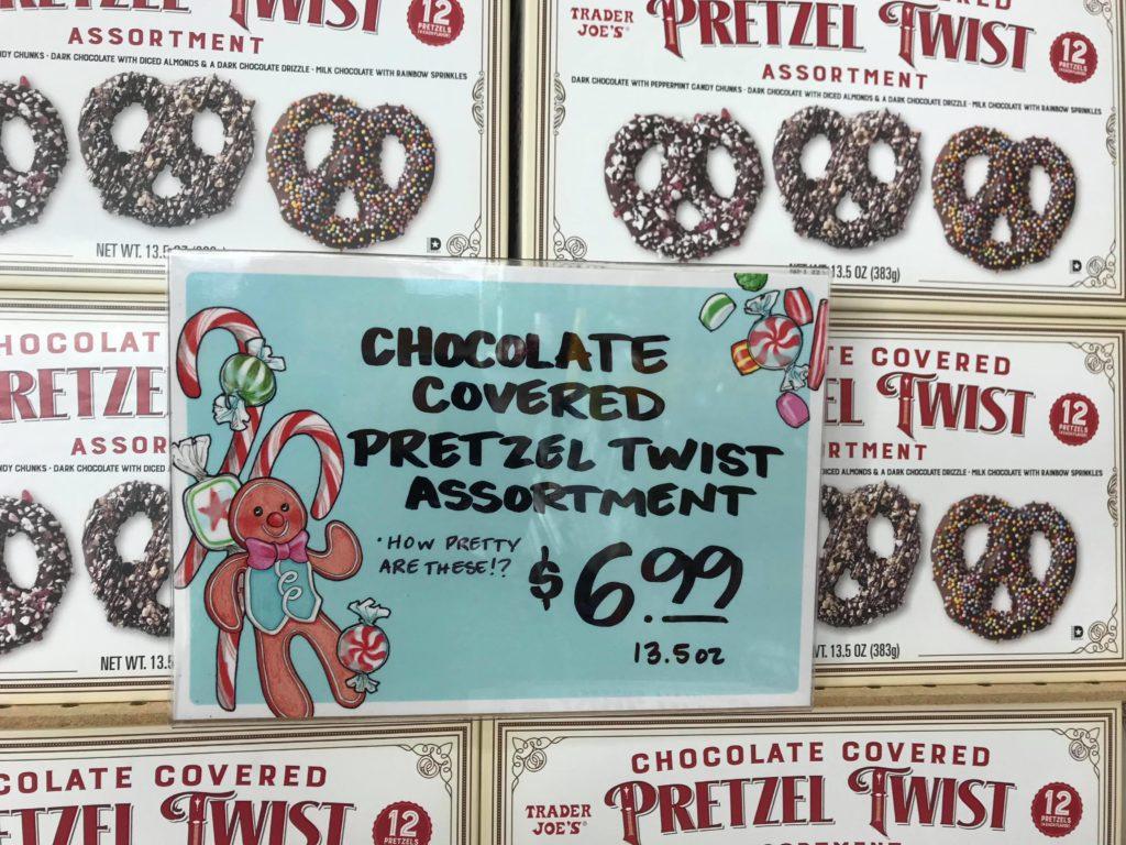 Pretzel Twists at Trader Joe's