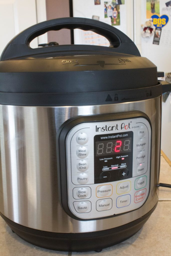 Water Test Instant Pot