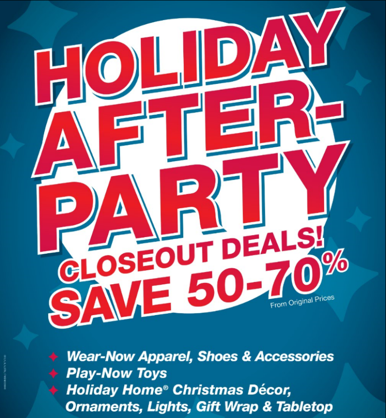fred meyer holiday after party save 50 70 on apparel decor more - Fred Meyer Hours Christmas
