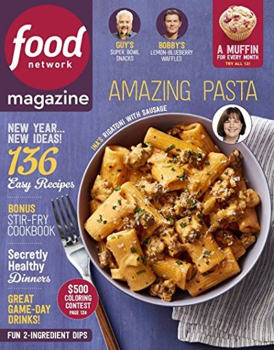Amazon best selling magazine subscriptions for 5 food network food network 5 for 1 year subscription 10 issues forumfinder Choice Image