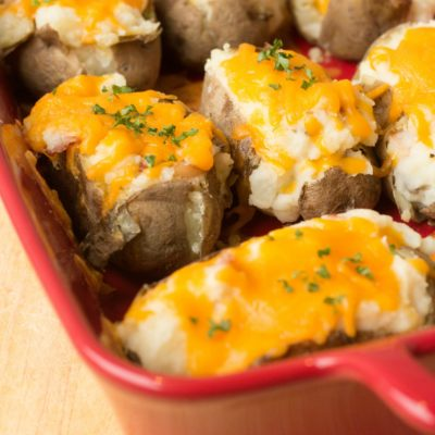 Twice Baked Potato Recipe