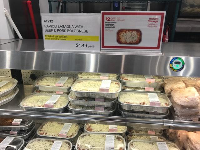 costco lasagna cooking instructions