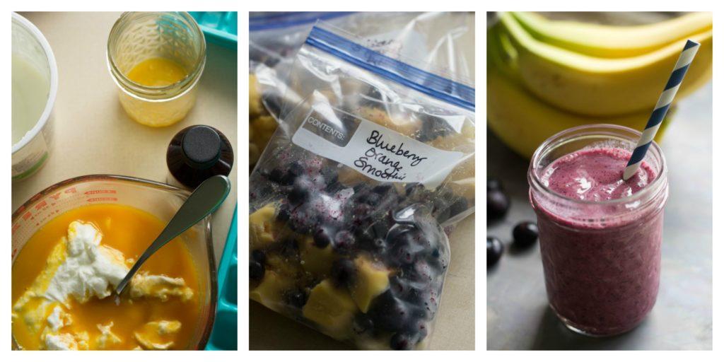 Blueberry Orange Smoothie Kits Recipe