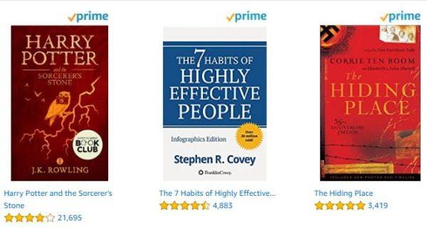 Amazon Prime: Free Kindle Books, Kindle Unlimited Discount +