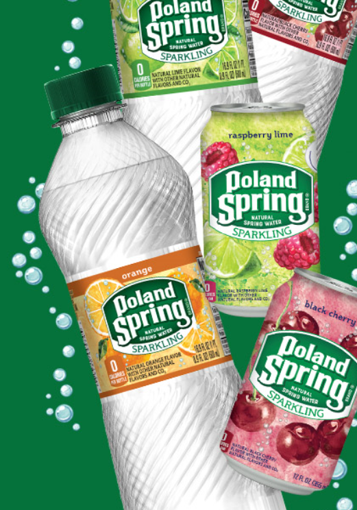 FREE Parkland Sparkling Poland Spring Water, 8 pack Coupon
