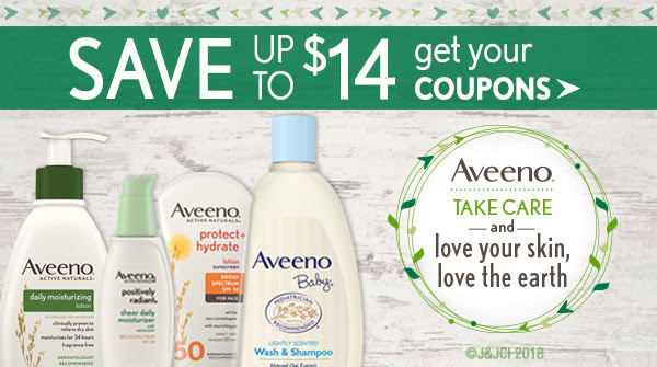 Aveeno Printable Coupons At Coupons Com Save Up To 14
