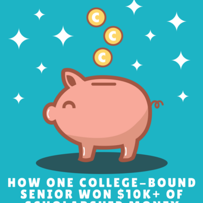How One College-Bound Senior Won $10K+ of Scholarship Money from a Single Website!
