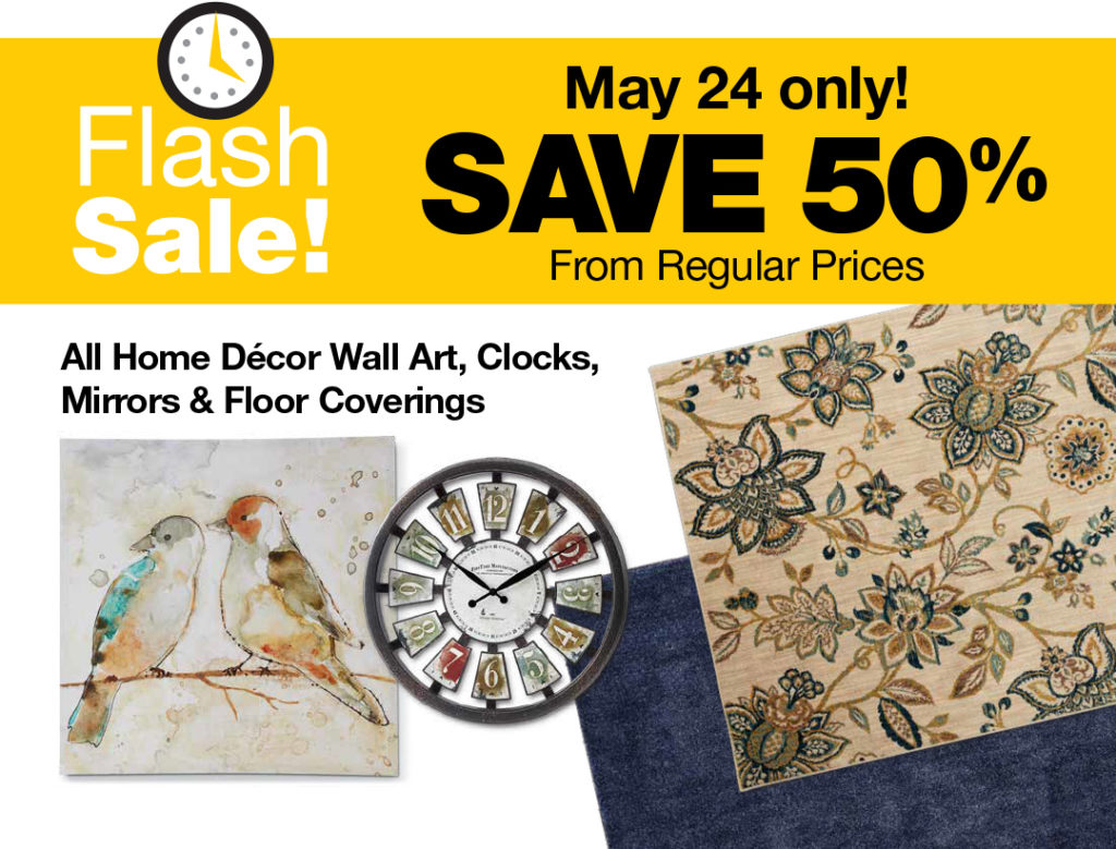 Fred Meyer Flash Sale: Save 50% All Home Décor Wall Art, Clocks ...