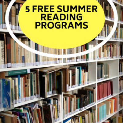 5 Summer Reading Programs for Kids