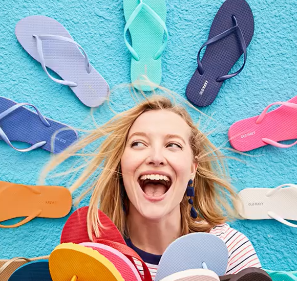8bbcf8f05274 Head to Old Navy on Saturday, June 23rd and you'll be able to score flip- flops for the family for just $1 per pair! It's important to note that this  offer ...