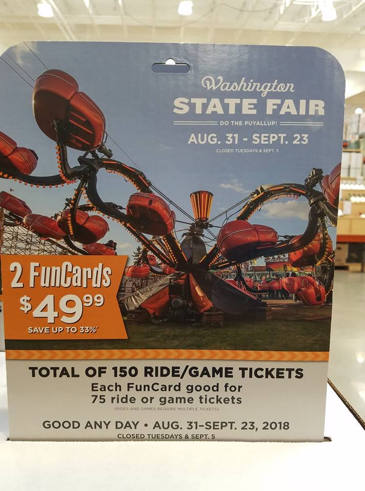 Washington State Fair Discounts 2019 – Coupons, Savings, and