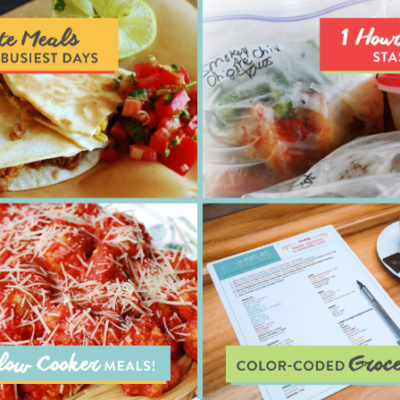 *LAST DAY* Eat at Home Complete Meal & Grocery Planning Service: 30% off Sale!