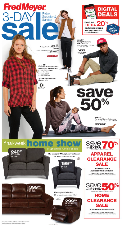 Fred Meyer 3-Day Sale (9/7-9/9): Extra 20% off Housewares