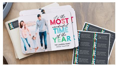 Shutterfly: 10 FREE Cards + 1 FREE Set of Address Labels