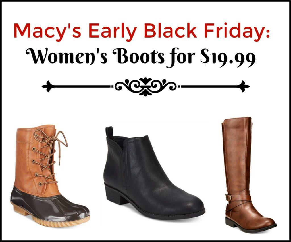 Macy's Early Black Friday Deal: Women's