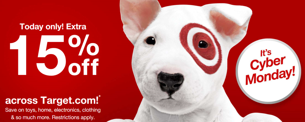 Cyber monday target coupon code