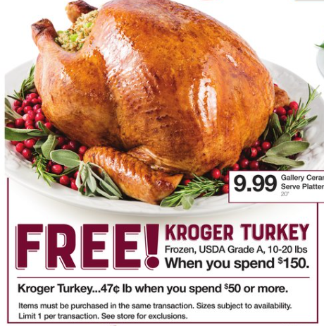 Best Turkey Price Roundup - updated as of 11/19/18 - The