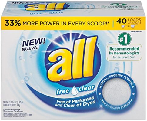 All Free Amp Clear Powder Laundry Detergent 40 Loads On
