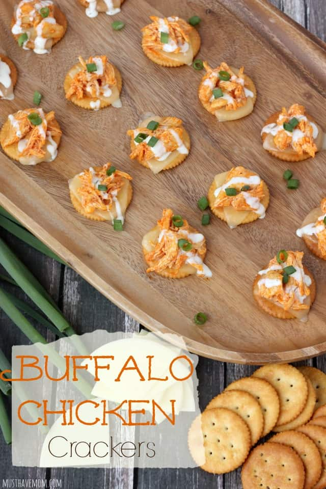 Buffalo Chicken Crackers