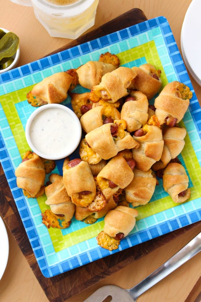 Jalapeno Cheddar Pigs in a Blanket