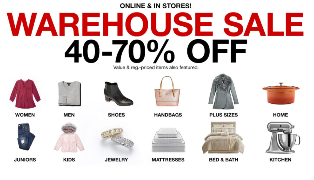 861cfee0c Macy's: *HOT* Warehouse Sale 40-70% off (today only) - The Coupon ...