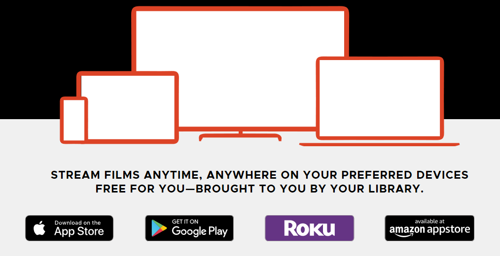 Kanopy: FREE Movie Streaming Service with your Library Card