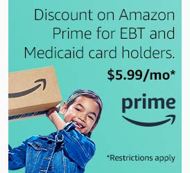 Amazon Prime Discount: $5 99/Month for EBT and Medicaid