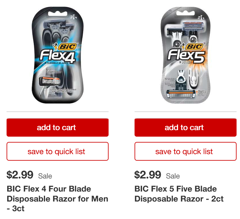 graphic regarding Bic Printable Coupons titled Aim: Totally free Bic Flex Disposable Razors (3/18 merely) - The