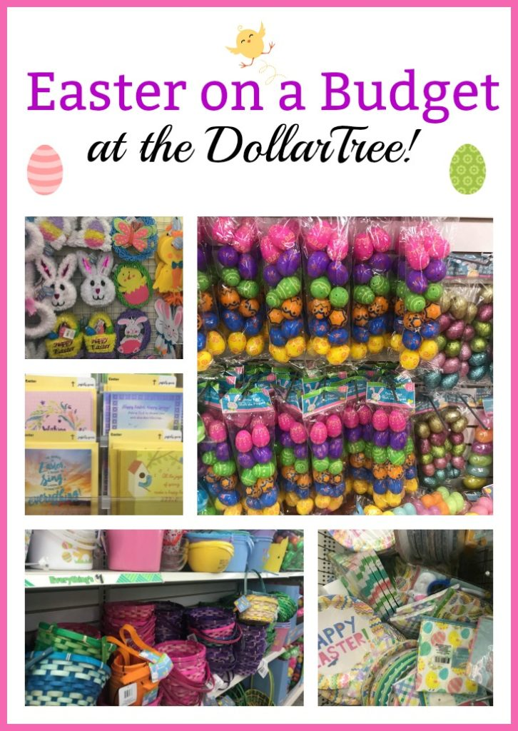 Easter for Less at the Dollar Tree (What I found at my Store