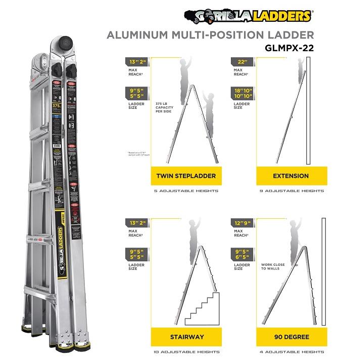 Home Depot Spring Black Friday Gorilla Ladder 99 Shipped
