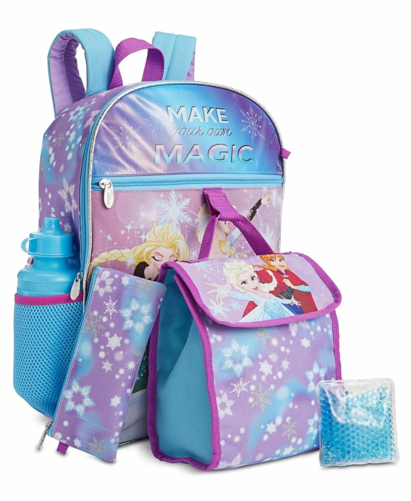 Frozen kids backpack sets