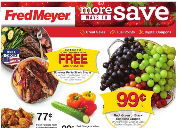 fred meyer coupon matchups 8/7