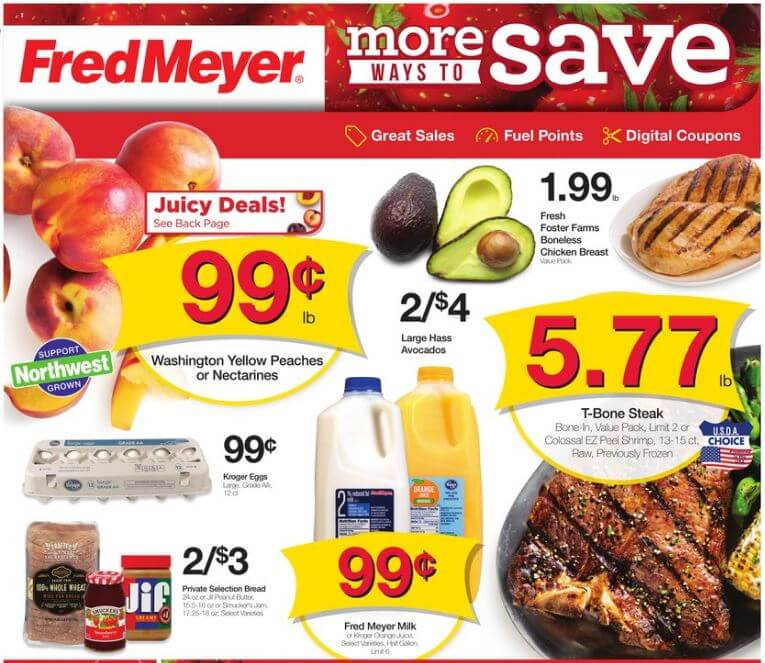 Fred Meyer coupon matchups 8/14