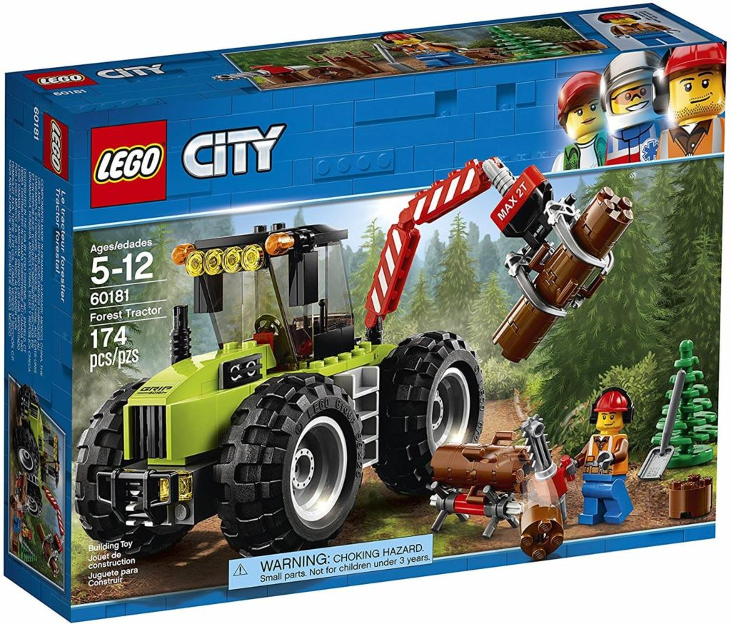LEGO City Forest Tractor Set