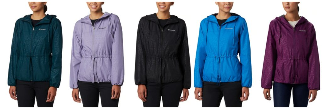 Columbia Womens Windbreaker Deal