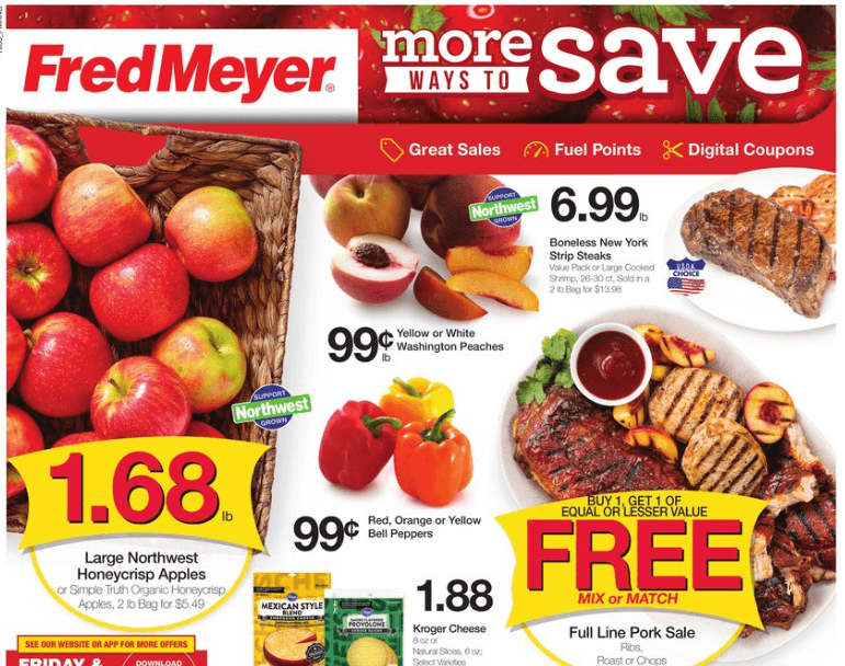 Fred Meyer coupon matchups 10/2