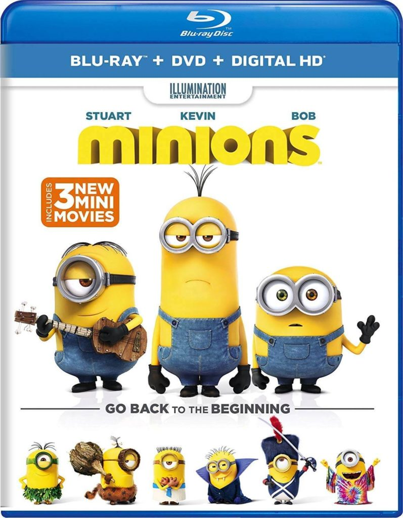 Minions Blu-ray Best Price