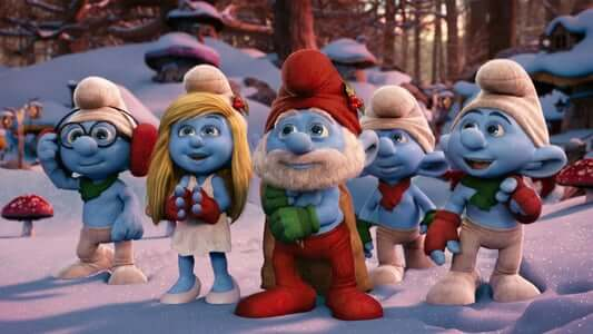 smurfs christmas movie