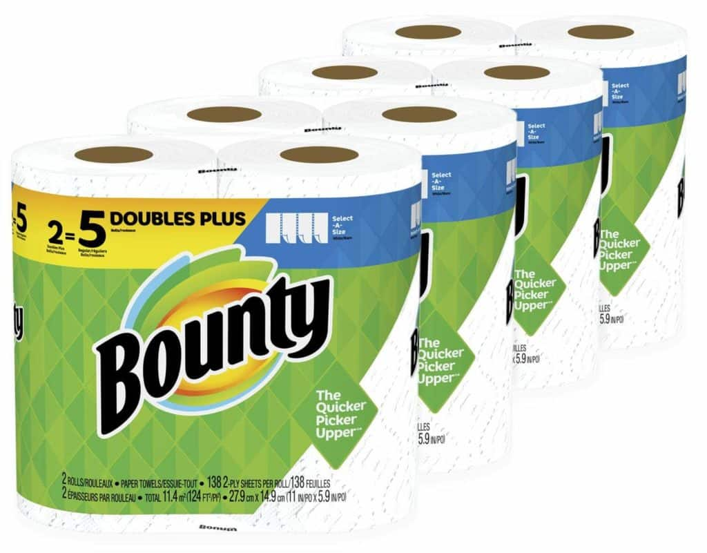 bounty paper towels subscribe and save