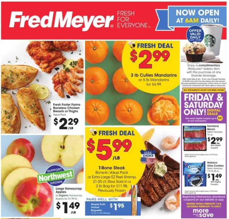 Fred Meyer coupon matchups 2/12