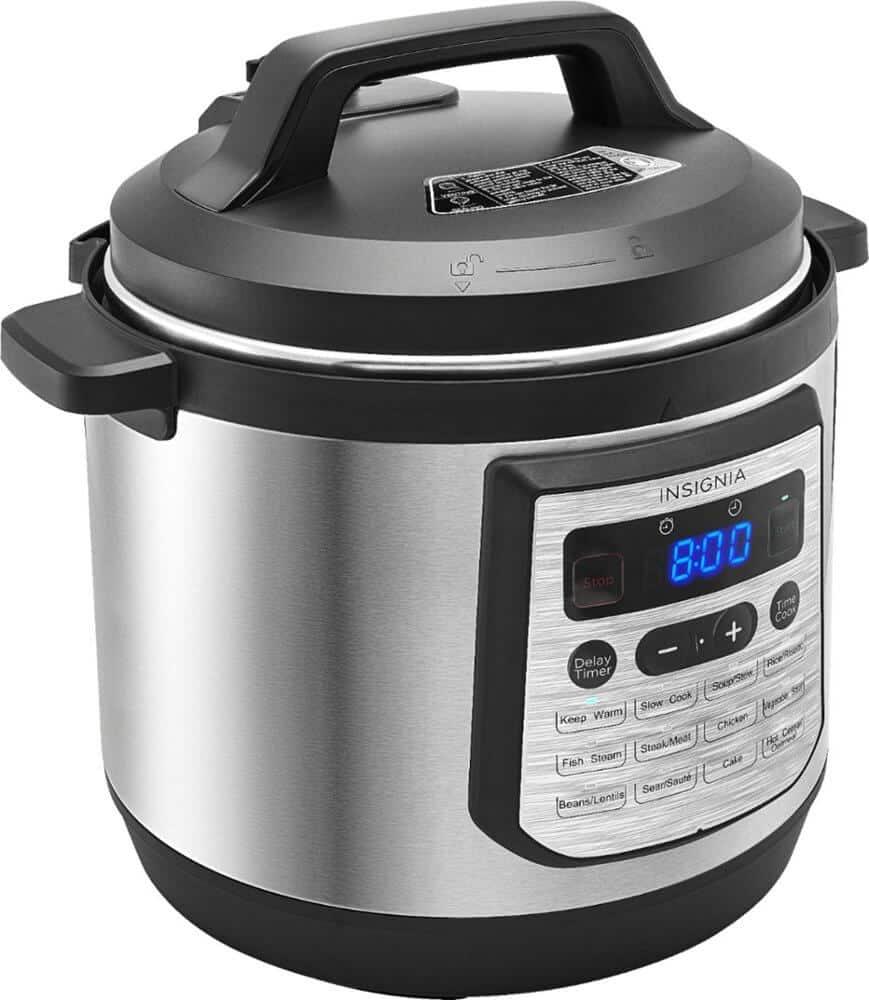 Insignia 8-Quart Pressure Cooker