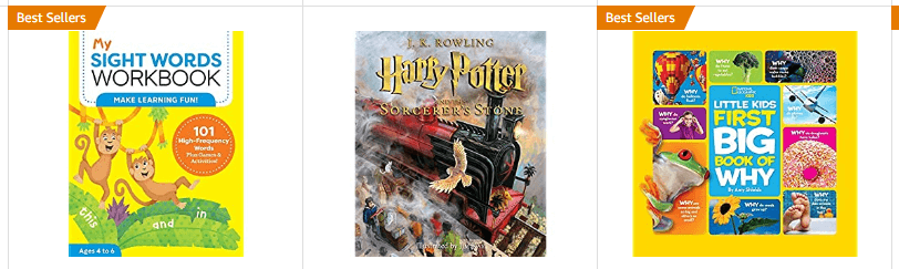 kids books on Amazon