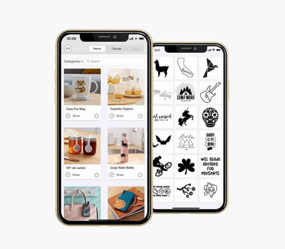 new Cricut Joy smartphone app