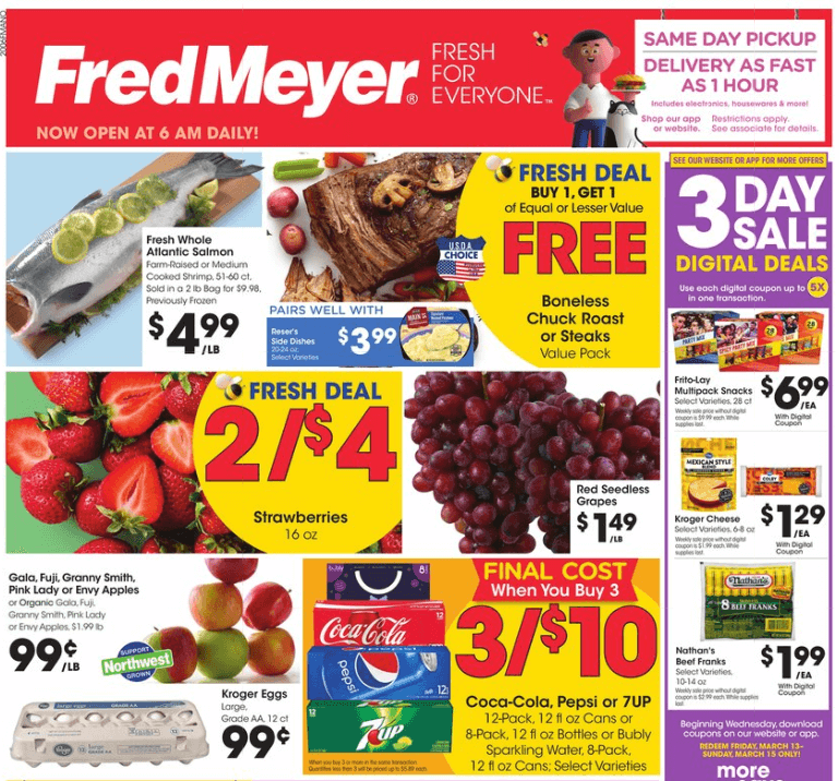 fred meyer coupon matchups