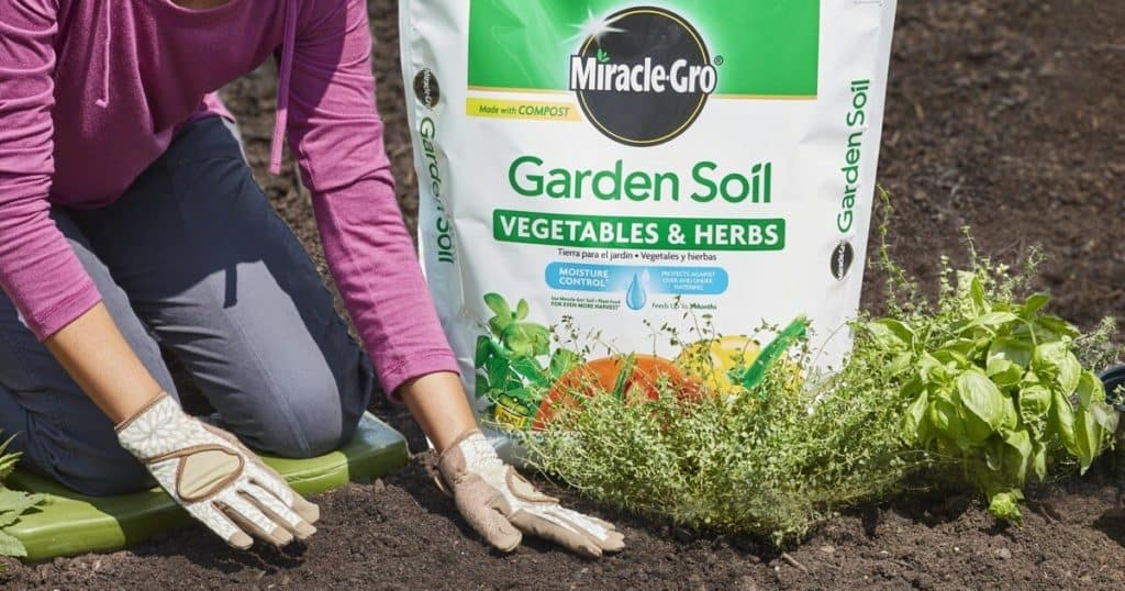 Scotts Miracle-Gro garden soil rebate