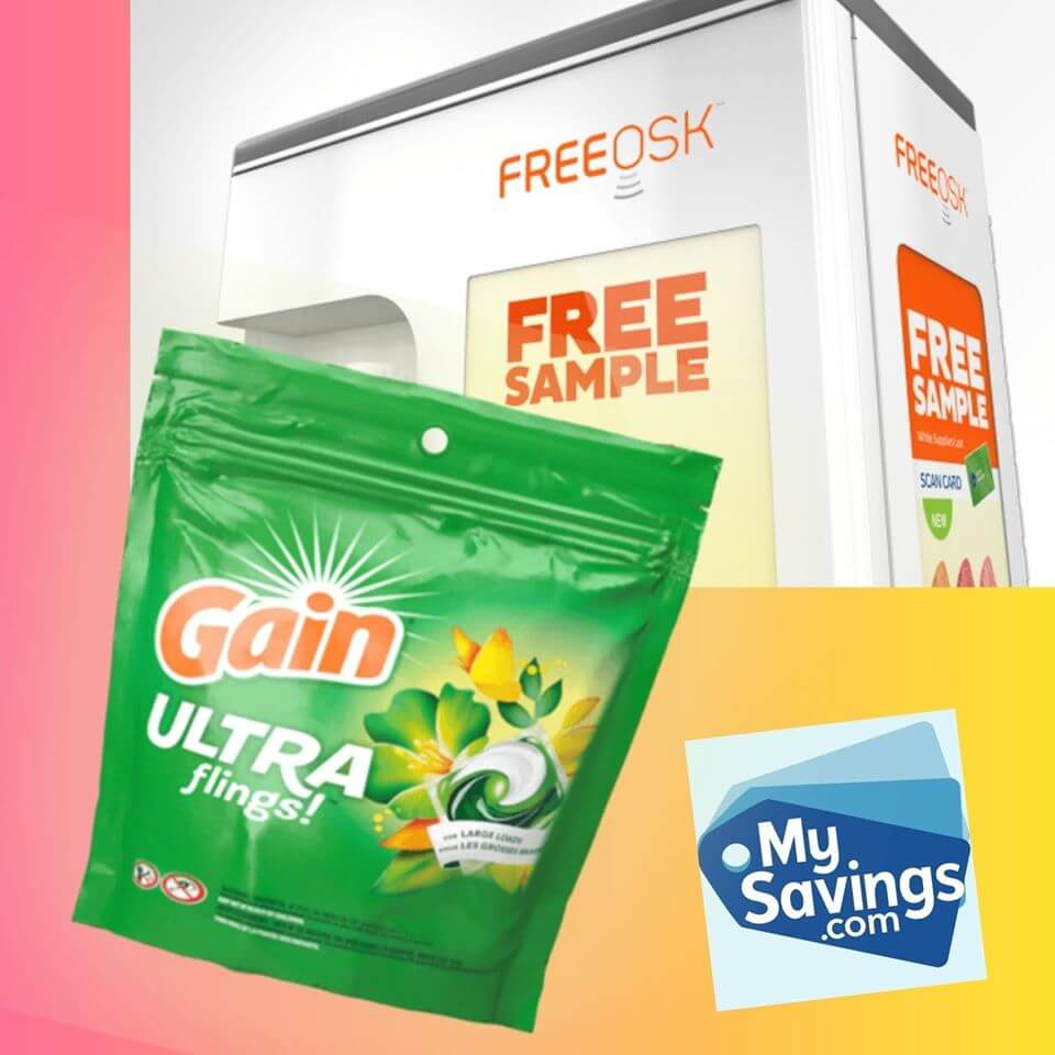 MySavings: Free Samples, Free Stuff, Freebies and Coupons