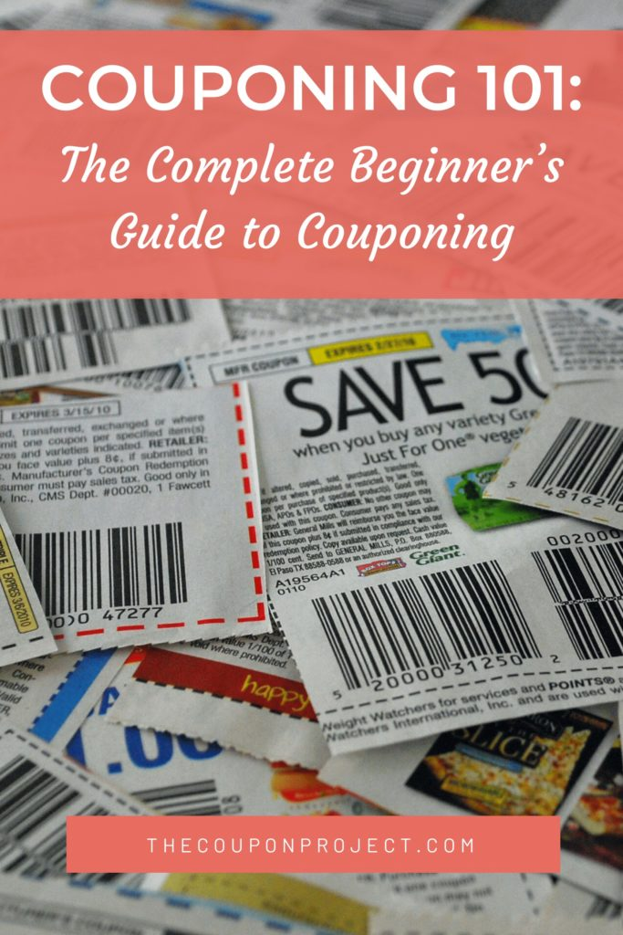 Couponing 101: The Complete Beginner's Guide to Couponing