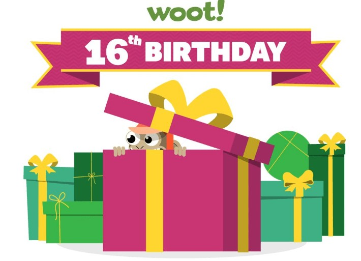 Woot! 16th Birthday Event