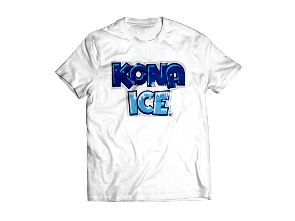 free t-shirt from Kona Ice